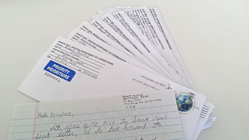 Briefe Usa : Briefe in die todeszelle todesstrafe derstandard at