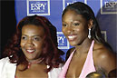 Yetunde Price mit Venus Williams.