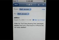 E-Mail-Bug am iPhone