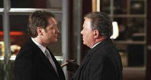 "Goodbye, Alan (James Spader, li.), so long, Denny (William Shatner): ""Boston Legal"" (23.05, Vox) verabschiedet sich in den wohlverdienten Ruhestand."