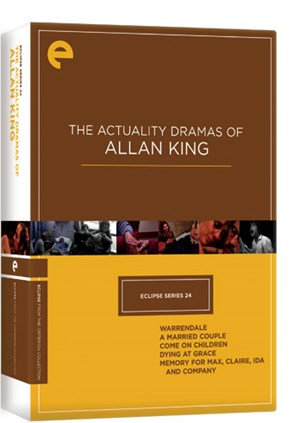 """The Actuality Dramas of Allan King"", Criterion"
