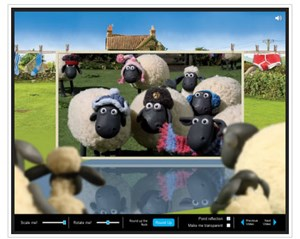 Shaun the Sheep - 3D Animationen über CSS.