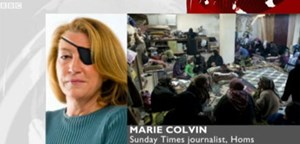 "Ihr letztes BBC-Interview: Marie Colvin im O-Ton (""I saw a baby die today"")"