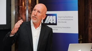 Holger Jung war auf Einladung der International Advertising Association (IAA) zu Gast in Wien.