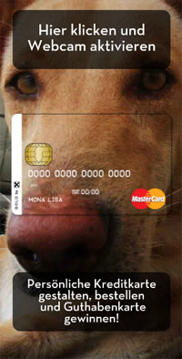 Mit Hund und Kuss zur etat.at-Maus im April: RBI Raiffeisen Bank International