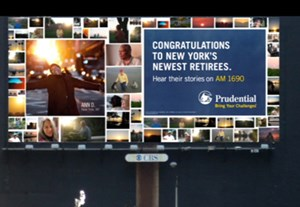 "Gold bei Integrated: ""Prudential""-Kampagne ""Day One"" - >>> mehr zur Kampagne"
