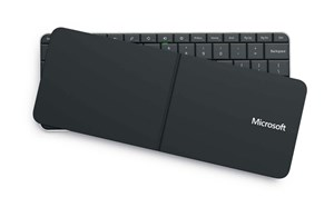 Wedge Mobile Keyboard mit zuklappbarem Cover
