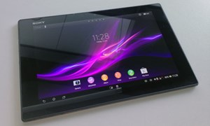Das Sony Xperia Tablet Z ist Sonys aktuelles Flaggschiff-Tablet mit Android Jelly Bean.