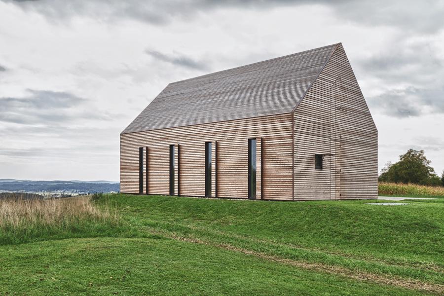 Steiles gel nde unterirdische g nge seite 1 for Holzhaus moderne architektur