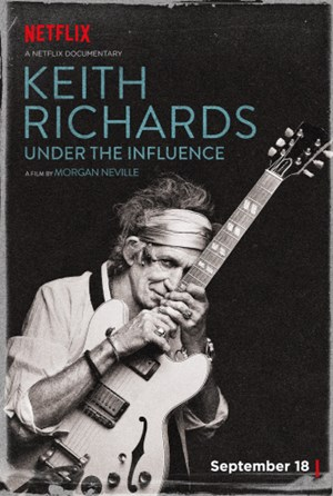 "Zeitgleich mit der Netflix-Dokumentation ""Keith Richards: Under the Influence"" erscheint auch Richards' drittes Soloalbum ""Crosseyed Heart""."