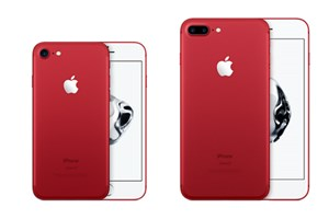 Das iPhone 7 gibt es nun auch in der Product-Red-Edition.