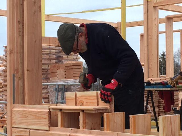 brikawood ein haus aus holzbausteinen bauen wohnen. Black Bedroom Furniture Sets. Home Design Ideas
