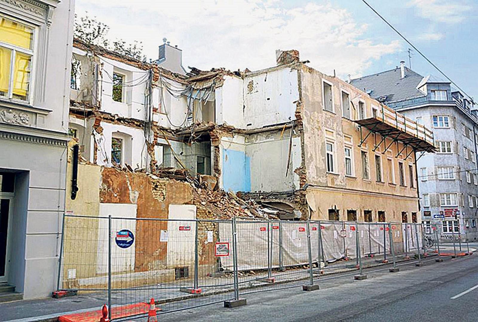 Abbrüche von Gründerzeithäusern: Vienna Demolition Man