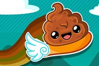 foto: happy poo flap