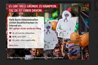 foto: screenshot/taz.de