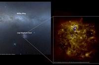 fotos: h.e.s.s.-kollaboration/skyview, a. mellinger und m. braun et al.