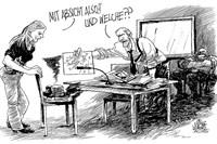 cartoon:  oliver schopf