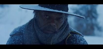 "foto: screenshot trailer ""the hateful eight"""