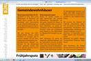 screenshots: website der gemeinde röthelstein