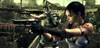Chris Redfield und Sheva Alomar