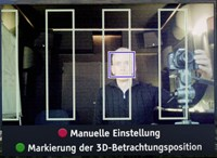 Die Kamera verfolgt die Position des Betrachters