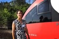 Judith Engel, Projektleiterin der ÖBB-Infrastruktur, ist seit 2005 für das Mammutprojekt Wiener Hauptbahnhof verantwortlich.