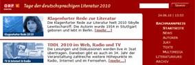 screenshot: bachmannpreis.eu
