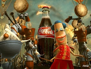 "Die neue Coca Cola-Kampagne ""Happiness Factory"""