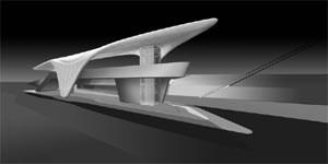 Eine echte Zaha Hadid: Die Hungerburgbahn in Innsbruck gibt sich aalglatt und stromlinienförmig. Der technische Aufwand ist enorm. (Grafik: Hadid, Malojer)Mehr Bilder:www.nordpark.comwww.inkb-neu.at