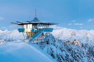Der Top Mountain Star ist nicht nur eine topografische Gratwanderung: Er bewegt sich zwischen Marketing und Architektur. (Bild: Ötztal Tourismus)
