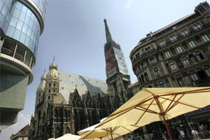 Laut EU-Statistikamt Eurostat verbesserte sich die Bundeshauptstadt im EU-Ranking von insgesamt 268 Regionen um einen Platz gegenüber dem Vorjahr.