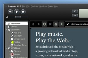 Songbird 0.2.5Der freie Media Player in neuer Version