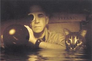 Nur kurz aufgetaucht: Chris Marker mit Katze Guillaume-en-Egypte.