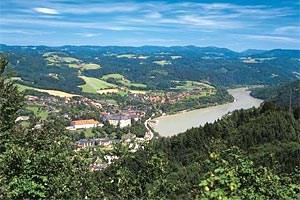 Grein an der Donau.