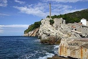 Ganz in der Nähe von Sveti Stefan, zwischen Budva und Bar, liegt Petrovac.