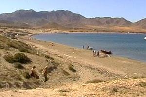 Der Playa los Genoveses: erste Adresse in Cabo de Gata.