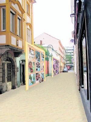 """Wenn die Virtualität aus dem """"Second Life"""" in die Realität drängt: Aram Bartholls """"Second City"""" in Linz."""