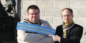 """LIF-Abgeordneter Alexander Zach will """"raus aus der Kammer"""". Dafür hat er eine gleichnamige Initiative gegründet."""