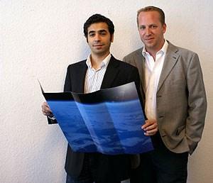 """""""Über ihn gibt es nichts zu meckern"""" - Bernhard Stingl (rechts) mit seinem Deluxe-Travel-Partner Sunit Jairath."""
