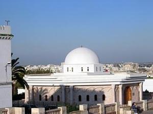 Blick auf Tunis vom Place de la Kasbah.