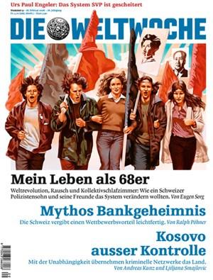 """Das Cover der aktuellen """"Weltwoche"""""""