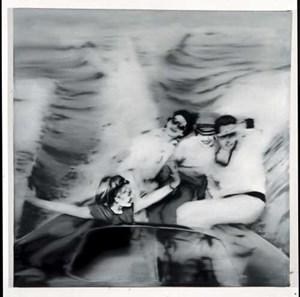 Gerhard Richter: Motorboot (1. Fassung), 1965, Öl auf Leinwand