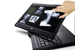Dells neuer Tablet-PC mit Multitouch-Screen