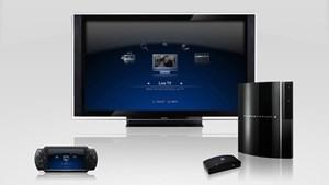 PlayTV im Zusammenspiel mit PS3 und PSP.