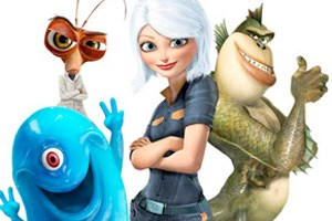 """Monsters vs. Aliens"" startet am 2. April in den heimischen Kinos"