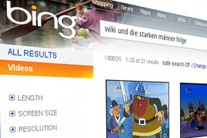 Die Bing-Video-Suche. Mostly harmless.