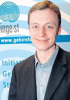 Andreas Fink untersucht die Arbeitsweise des Gehirns. - 1244485384399
