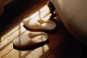 Holzböden sind am öftesten in Schlaf- und Wohnzimmern zu finden.