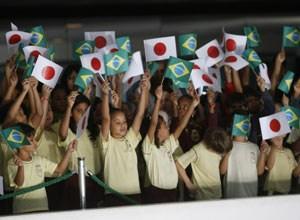 Brasilia, im Juni 2008: Staatliche Feiern angesichts des 100-Jahre-Jubiläums der japanischen Immigration nach Brasilien
