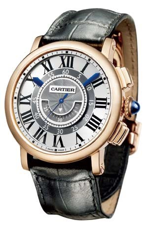"""Rotonde de Cartier Central Chronograph"""